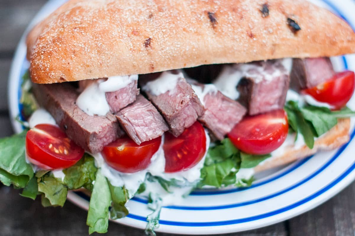 Flank steak na grilu Recept - Krok 4