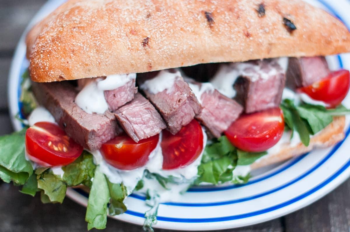 Flank steak na grilu Recept - Krok 4