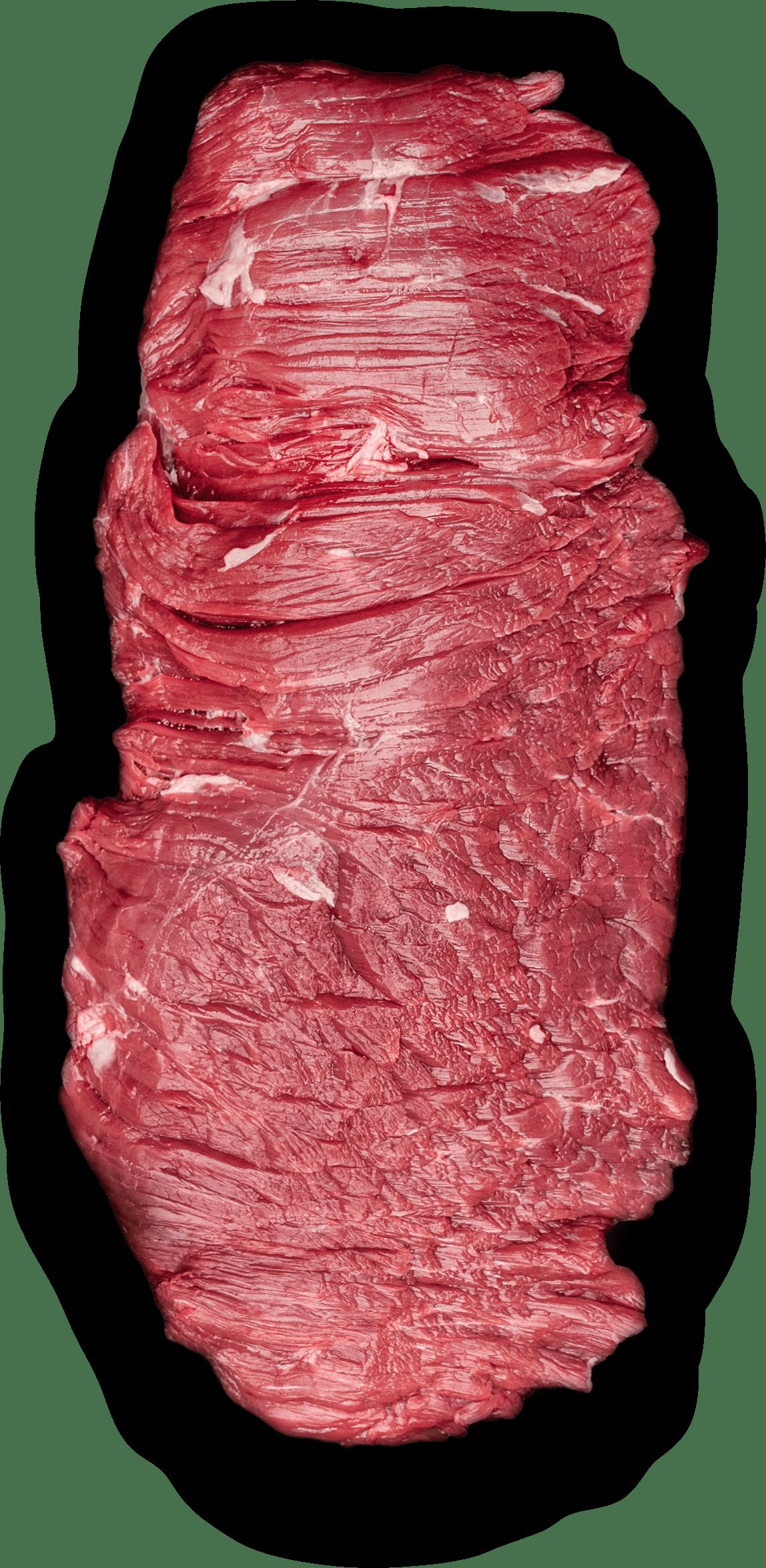 Tento kousek masa si většina řezníků schovávala pro sebe a dobře věděli proč. Je to velmi lahodný a šťavnatý kus masa. Svalový úpon bránice, který se nachází kousek od jater a díky tomu chytá silnou kořeněnou hovězí chuť. Nejlepší je na grilu a ve světě je velmi známý pro přípravu fajitas.
