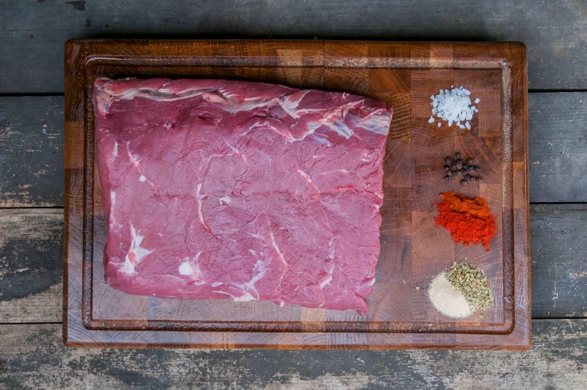 Sandwich se steakem Recept - Krok 1