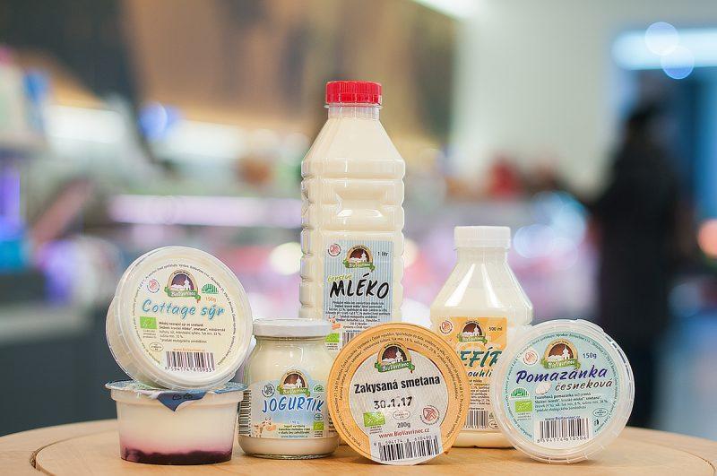 Mléčné výrobky z farmy BioVavřinec