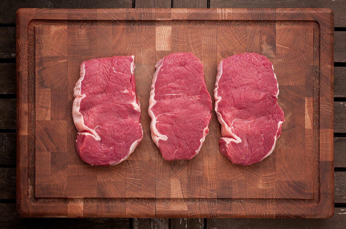 Steak s hříbkovou omáčkou Recept - Krok 2