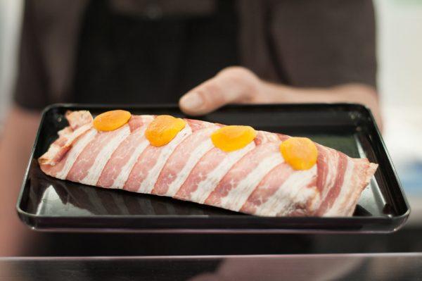 Vepřová panenka ve slanině
