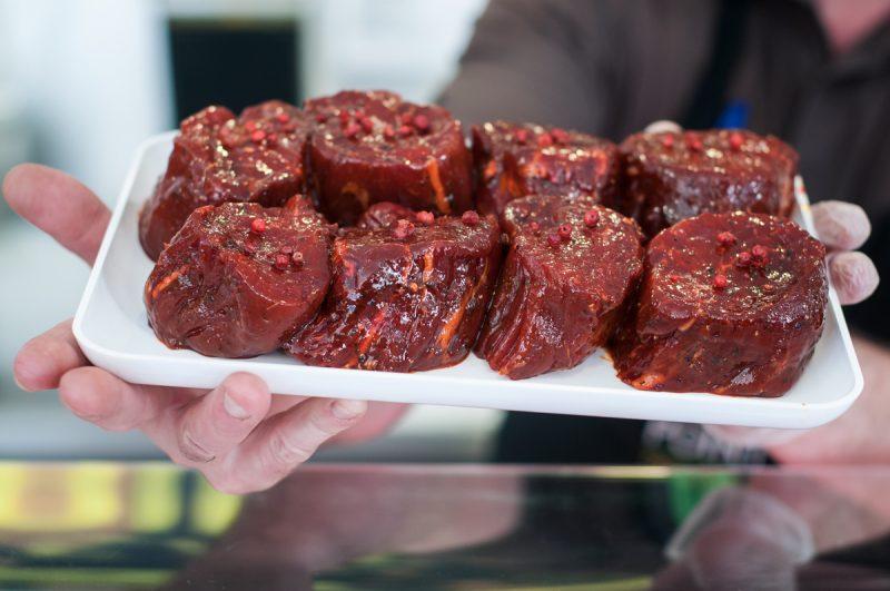 Marinovaný biftek z pravé svíčkové